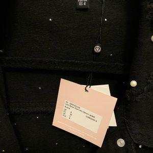 Missguided Jackets & Coats - Misguided X Carli Bybel Black Pearl Denim Jacket